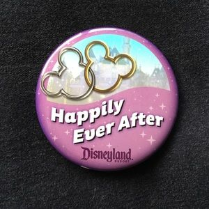 Jewelry - NEW Disneyland - Happily Ever After Pin